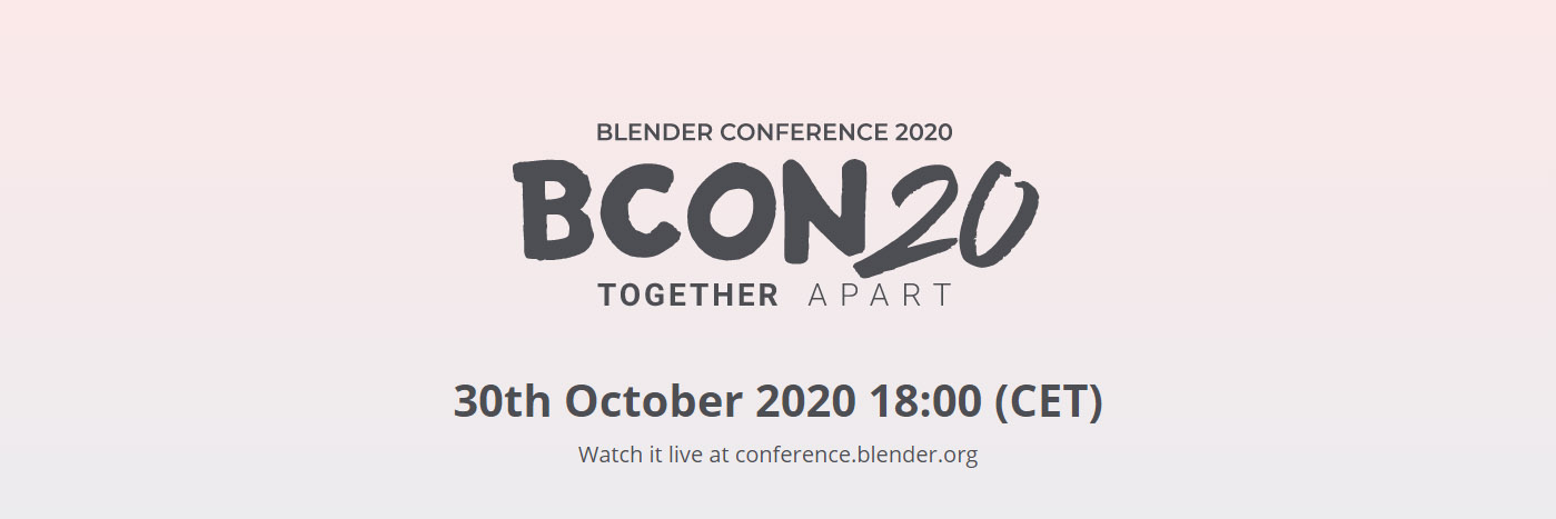 30 october: BCON2020 Together Apart